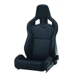 Sportovní sedačka RECARO Sportster CS - levá strana, kůže - semiš