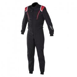 FIA Kombinéza ALPINESTARS Super KMX-1 Black/Red