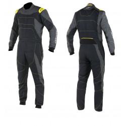 FIA/SFI Kombinéza ALPINESTARS GP Race Black/Anthracite/Yellow