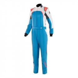 FIA/SFI Kombinéza ALPINESTARS Stella GP Pro Comp dámská Blue/White/Orange