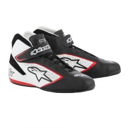 Boty ALPINESTARS FIA Tech 1 T - Black/White/Red