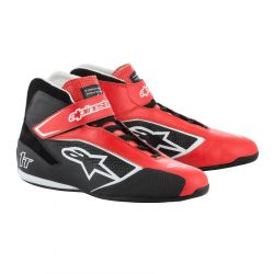 Boty ALPINESTARS FIA Tech 1 T - Red/Black/White
