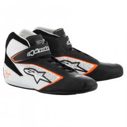 Boty ALPINESTARS FIA Tech 1 T - Black/White/Orange