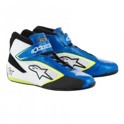 Boty ALPINESTARS FIA Tech 1 T - Blue/White/Yellow