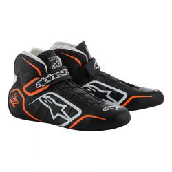 Boty ALPINESTARS FIA Tech 1-Z - Black/White/Orange