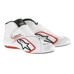 Boty ALPINESTARS FIA Supermono - White/Red