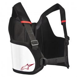 Alpinestars chránič žeber Bionic junior Rib - Black / White