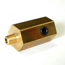 Adaptér pod olejový filtr na připojení snímačů pro Subaru BRZ, Toyota GT86 FA20D