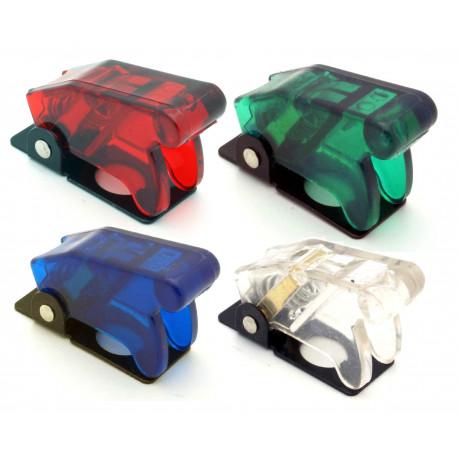 Startovací tlačítka a vypínače Průsvitný kryt na páčkový přepínač - různé barvy | race-shop.cz