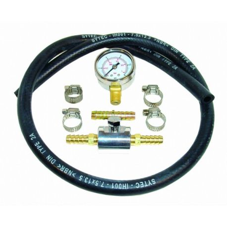 Manometry, adaptéry Testovací sada tlaku paliva SYTEC, 0-1Bar | race-shop.cz
