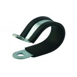 Ocelová objímka pro uchycení hadic nebo kabelů, různé průměry