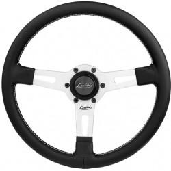 Sportovní volant Luisi Sharav, 340mm, kůže, bez odsazení
