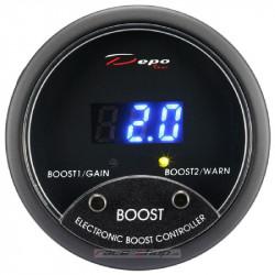 Elektronický boost controller (EBC) DEPO racing kulatý