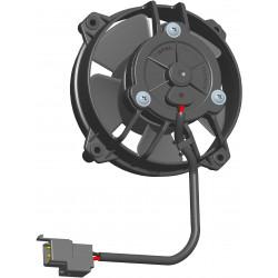 Univerzální elektrický ventilátor SPAL 130mm - sací, 24V