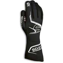 Rukavice Sparco Arrow s FIA homologací (vnější šití) černá/ šedá