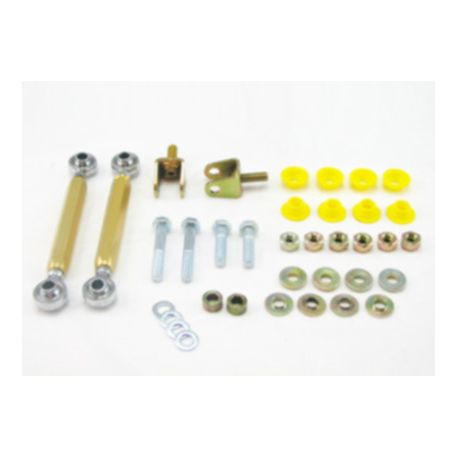 Whiteline Whiteline Sway bar - link kit 50mm lift adj spherical rod M / SPORT, přední náprava | race-shop.cz