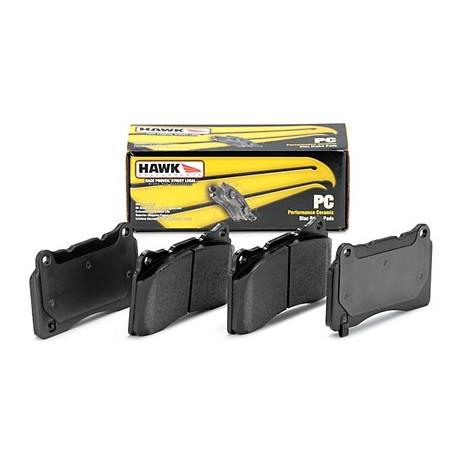 Brzdové desky HAWK performance Zadní brzdové destičky Hawk HB159Z.492, Street performance, min-max 37 ° C-350 ° C | race-shop.cz