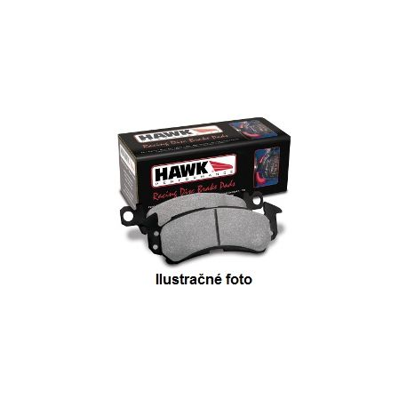 Brzdové desky HAWK performance Přední brzdové destičky Hawk HB181N.660, Street performance, min-max 37 ° C-427 ° C | race-shop.cz
