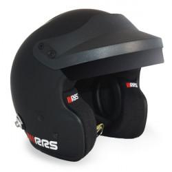 Přilba RRS JET PROTECT PREMIUM BLACK s FIA 8859-2015, Hans
