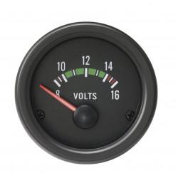 Budík RACES Classic - dobíjení (voltmetr)