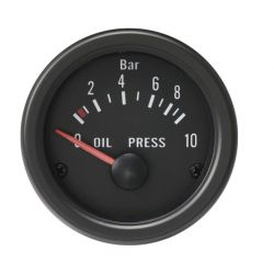 Budík RACES Classic - Tlak oleje