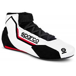 Boty Sparco X-LIGHT FIA bílé