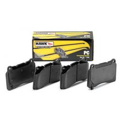 Přední brzdové destičky Hawk HB453Z.585, Street performance, min-max 37 ° C-350 ° C