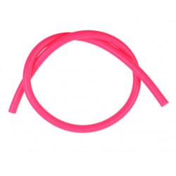 Silikonová podtlaková hadice 3mm, růžová