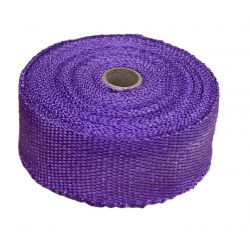 Termo izolační páska na svody a výfuk, fialová, 50mm x 10m x 1mm