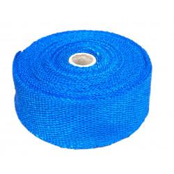 Termo izolační páska na svody a výfuk, modrá, 50mm x 10m x 1mm