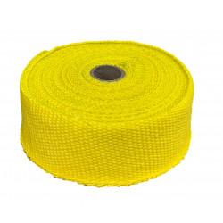 Termo izolační páska na svody a výfuk, žlutá, 50mm x 10m x 1mm