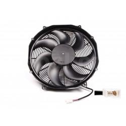 Univerzální elektrický ventilátor SPAL 385mm - sací, 24V