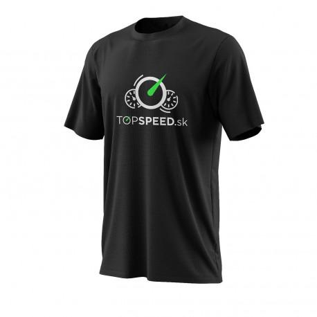 Trička Tričko TOPSPEED černé | race-shop.cz