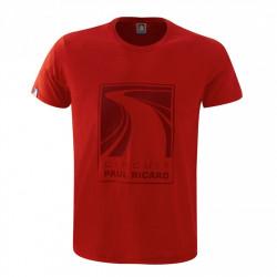 Tričko Circuit Paul Ricard (T-Shirt) - pánské - červené