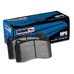 Zadní brzdové destičky Hawk HB707F.638, Street performance, min-max 37 ° C-370 ° C
