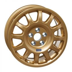 "Závodní disk BRAID Fullrace T Acropolis 6,5X15"" GOLD"
