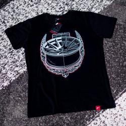 Tričko JAPAN RACING JR-11 mužské, Černá barva