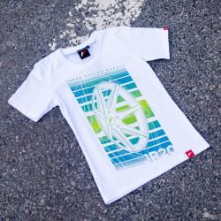 Tričko JAPAN RACING JR-20 ženské, Bílá barva