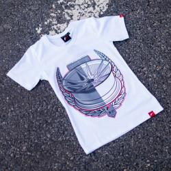 Tričko JAPAN RACING JR-21 ženské, Bílá barva
