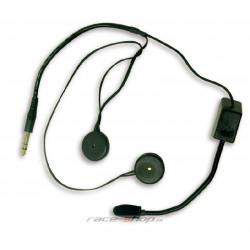 Terratrip headset pro centrály Clubman do otevřené přilby