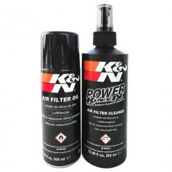 Sada na čištění a ošetřování sportovních vzduchových filtrů K&N