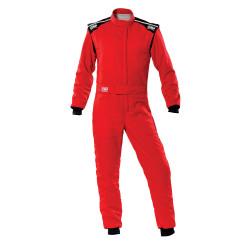 FIA Kombinéza OMP First-S red