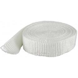 Termo izolační páska na svody a výfuk, bílá, 50mm x 10m / 15m x 2mm