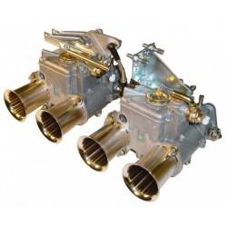 SYTEC dvoulankové ovládání klapek karburátoru Weber DCOE