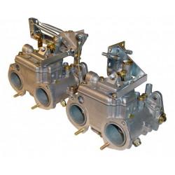SYTEC dvoulankové ovládání klapek karburátoru Dellorto DHLA