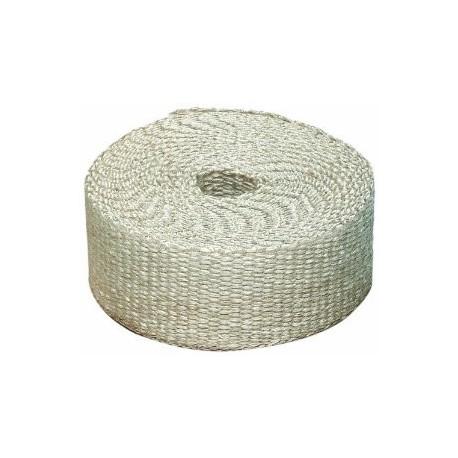 Izolační pásky na výfuk Termo izolační páska na svody a výfuk, bílá, 50mm x 10m x 0,8mm | race-shop.cz