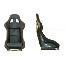 Sportovní sedačka EVO PVC CARBON černá