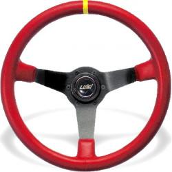 Sportovní volant Luisi Mirage Corsa, 350mm, kůže, 75mm odsazení