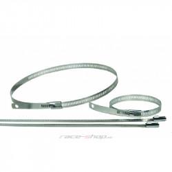Nerezová stahovací páska Thermotec na termo pásky, 12ks, délka 230mm