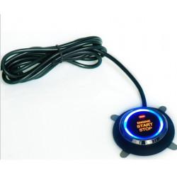 Startovací tlačítko RACES slim - podsvícené